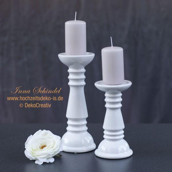 Kerzenhalter. Keramik. H